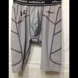 Boy's size Medium UNDER ARMOUR slider shorts